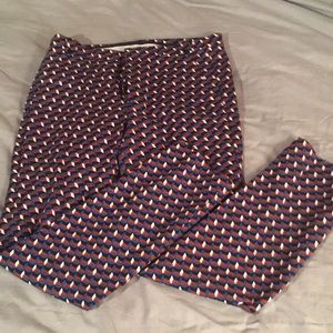 Zara skinny cropped pants size S